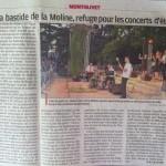 Journal La Provence - 9 juillet 2013