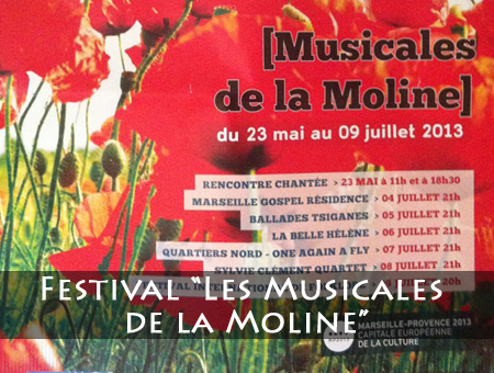 Les Musicales de la Moline - Marseille