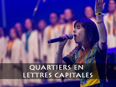Quartiers en Lettres Capitales (2011 & 2013)
