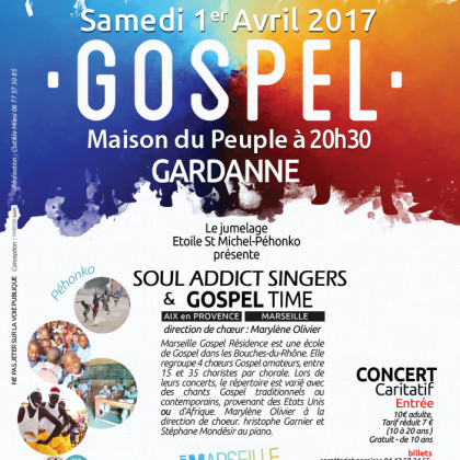 Concert Gospel, Gardanne